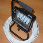 Переносной прожектор с кабелем