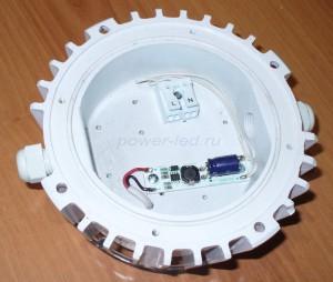 влагозащищенный светильник с двумя вводами